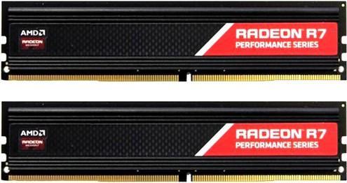 Фото - Оперативная память 16Gb (2x8Gb) PC4-21300 2666MHz DDR4 DIMM CL16 AMD R7S416G2606U2K оперативная память 16gb 2x8gb pc4 21300 2666mhz ddr4 dimm cl17 patriot pvr416g266c5kw