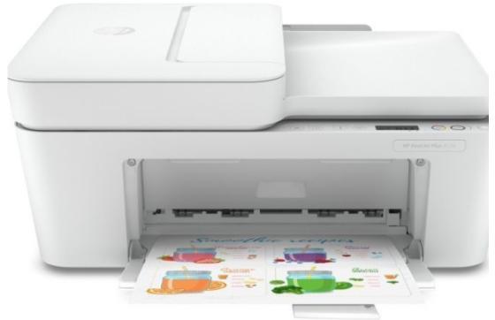 Фото - МФУ HP DeskJet Plus 4120 <3XV14B> принтер/ сканер/ копир/ факс(с моб уст-ва) , А4, ADF, 8.5/5,5 стр/мин, USB (замена F5R96C DeskJet Ink Adv 3835) мфу hp deskjet plus ink advantage 6475