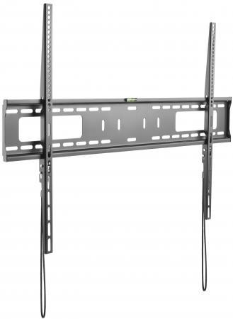 Фото - Кронштейн для телевизора Ultramounts UM 815F черный 60-100 макс.75кг настенный фиксированный кронштейн для телевизора ultramounts um 810f 13 27 настенный фиксированный