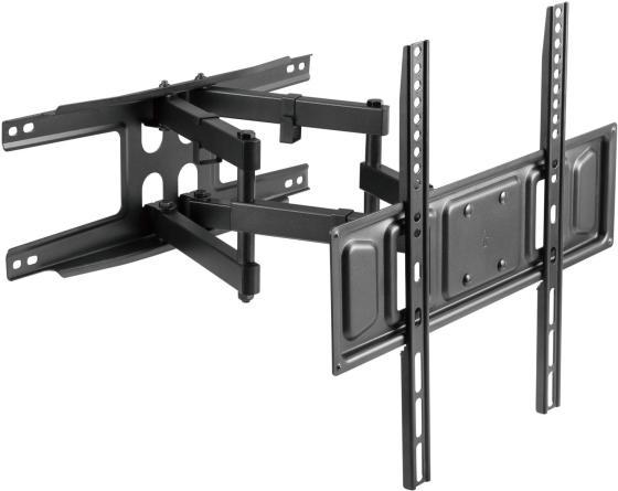 Фото - Кронштейн для телевизора Ultramounts UM 908 черный 32-75 макс.40кг настенный поворотно-выдвижной и наклонный кронштейн для телевизора ultramounts um 912 37 75 настенный поворотно выдвижной и наклонный