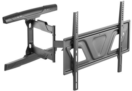 Фото - Кронштейн для телевизора Ultramounts UM 910 черный 37-75 макс.35кг настенный поворотно-выдвижной и наклонный кронштейн для телевизора ultramounts um 912 37 75 настенный поворотно выдвижной и наклонный