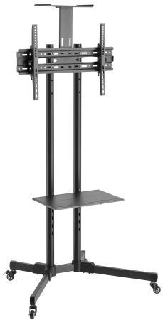 Фото - Подставка для телевизора Ultramounts UM 262 черный 37-75 макс.50кг напольный мобильный подставка для телевизора onkron ts1351 40 65 напольный мобильный
