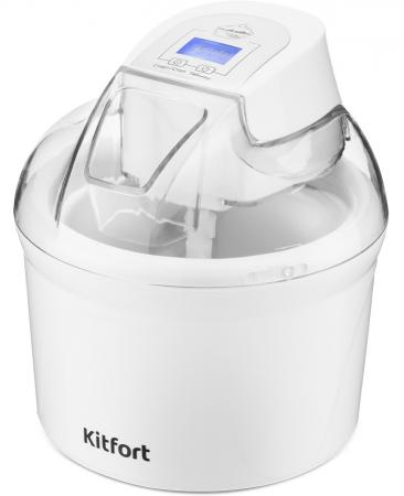 Мороженица Kitfort КТ-1808 12Вт 1500мл. белый