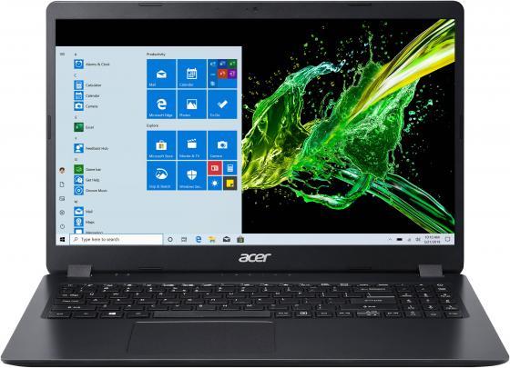 Ноутбук Acer Aspire 3 A315-56-38MN 15.6 1920x1080 Intel Core i3-1035G1 SSD 256 Gb 8Gb Intel UHD Graphics черный Linux NX.HS5ER.00B ноутбук acer aspire 3 a317 52 599q intel core i5 1035g1 1000mhz 17 3 1920x1080 8gb 256gb ssd intel uhd graphics без ос nx hzwer 007 черный