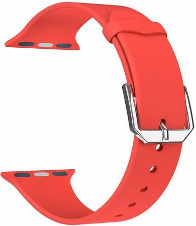 Фото - Ремешок Lyambda Alcor для Apple Watch красный DS-APS08C-44-RD ремешок lyambda alcor для apple watch голубой ds aps08c 44 bl