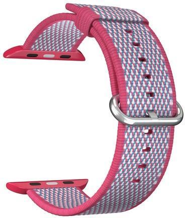 Ремешок Lyambda Polis для Apple Watch красный DSN-02-02A-40-RD ремешок для часов lyambda для apple watch 38 40 mm polis dsn 02 02a 40 rd red
