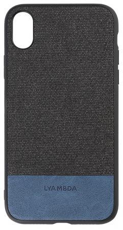 Накладка Lyambda Calypso для iPhone XS Max чёрный LA03-CL-XSM-BK чехол клип кейс lyambda calypso для iphone xs max la03 cl xsm br brown