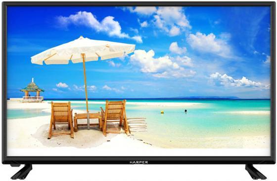 Фото - Телевизор 32 Harper 32R670TS черный 1366x768 60 Гц Wi-Fi Smart TV 2 х HDMI 2 х USB RJ-45 CI+ телевизор led 31 5 bq 32s02b черный 1366x768 50 гц wi fi smart tv usb rj 45 2 х hdmi ci