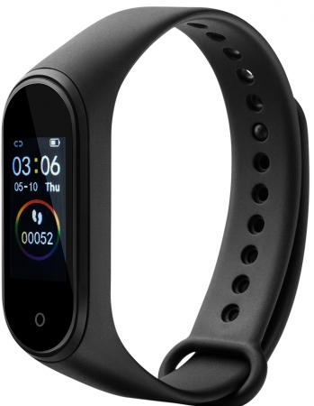 CANYON SB-01 Smart band, colorful 0.96inch LCD, IP67, heart rate monitor, 90mAh, multisport mode, co умные часы smart watch colorful 0 96inch tft ip67 waterproof heart rate monitor multisport mode compatibility with ios and android 90mah long li