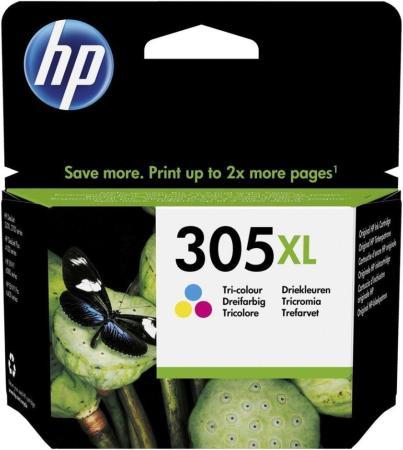Фото - Картридж струйный HP 305XL 3YM63AE многоцветный (200стр.) (5мл) для HP DJ 2320/2710/2720 картридж hp cz102ae 650 цветной dj ia 2615 200стр