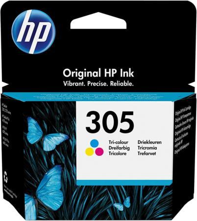 Фото - Картридж струйный HP 305 3YM60AE многоцветный (100стр.) (2мл) для HP DJ 2320/2710/2720 картридж струйный hp 305 3ym61ae черный