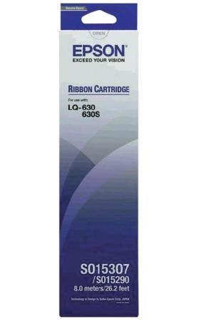 Картридж Epson C13S015307BA для Epson LQ 630 черный принтер матричный epson lq 630