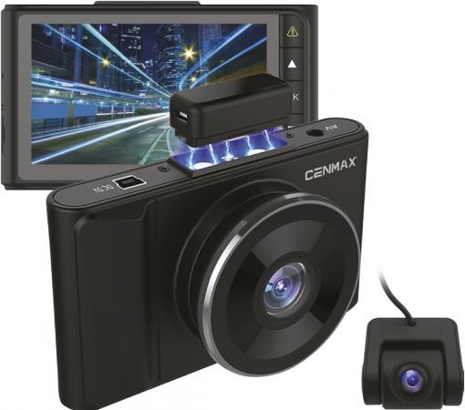 Видеорегистратор Cenmax FHD-550 черный 12Mpix 1080x1920 1080p 170гр. GP6248