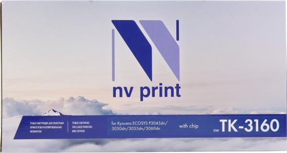 Фото - Картридж NV-Print TK-3160 для Kyocera Ecosys P3045dn/ P3050dn/ P3055dn/ P3060dn (12500k) картридж nv print tk 3160 для kyocera совместимый