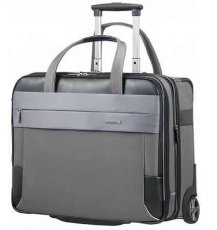 чемодан 15 6 samsonite ce7 009 09 полиэстер черный Сумка для ноутбука 17.3 Samsonite CE7*009*18 полиэстер нейлон серый черный