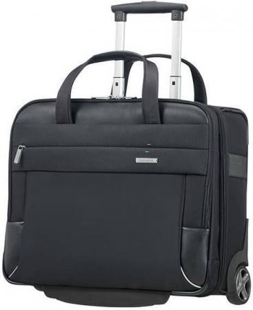 чемодан 15 6 samsonite ce7 009 09 полиэстер черный Сумка для ноутбука 15.6 Samsonite CE7*010*09 нейлон полиэстер полиуретан черный
