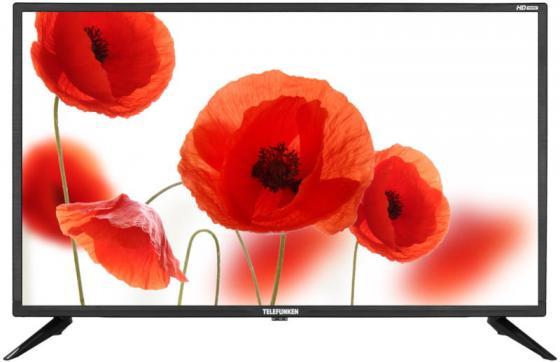Фото - Телевизор LED 32 Telefunken TF-LED32S31T2 черный 1366x768 60 Гц USB telefunken tf led32s31t2 черный