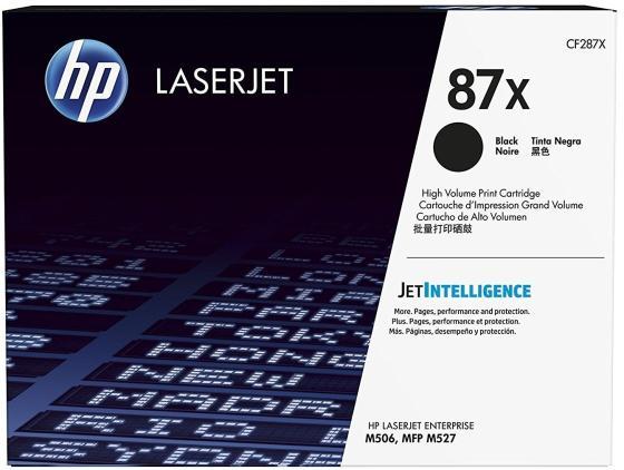 Фото - 87X Картридж EasyPrint LH-87X для HP LaserJet Pro M501n/Enterprise M506dn/M506x/M527c/M527f/M527dn (18000 стр.) черный, с чипом картридж easyprint q5942x 42x для hp laserjet 4200 4250 4300 4350 m4345mfp черный с чипом 20000стр