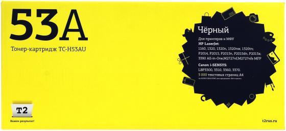 Фото - TC-H53AU Картридж T2 для HP LaserJet 1160/1320/P2014/P2015/M2727nf MFP/Canon i-SENSYS LBP3310/3370 Cartrige 715 (3000 стр.) с чипом tc h42x картридж t2 для hp laserjet 4250 4350 20000 стр с чипом