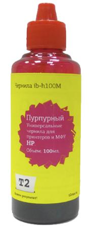 Фото - IB-H100M Чернила T2 универсальные для HP и Lexmark, цвет пурпурный (100мл.) колгейт паста зубн свежее дыхание 100мл
