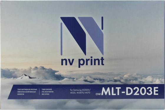 Фото - Картридж NV-Print MLT-D203E для Samsung ProXpress SL-M4020 ProXpress SL-M4070 ProXpress SL-M3820 ProXpress SL-M3870 10000стр Черный фотобарабан hp ss832a mlt r707 для sl k2200nd sl k2200 черный