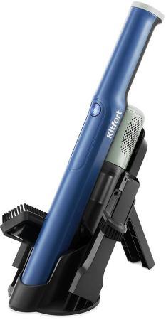 Фото - Пылесос ручной Kitfort KT-578 120Вт синий/черный ручной пылесос kitfort kt 578
