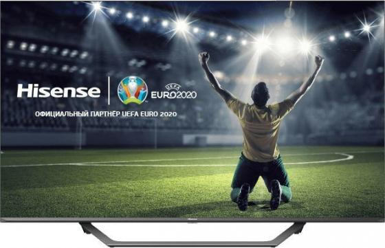 Фото - Телевизор LED Hisense 55 55AE7400F черный/Ultra HD/50Hz/DVB-T/DVB-T2/DVB-C/DVB-S/DVB-S2/USB/WiFi/Smart TV (RUS) телевизор led bbk 39 39lex 7168 ts2c черный hd ready 50hz dvb t2 dvb c dvb s2 usb wifi smart tv rus
