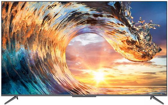 Фото - Телевизор LED TCL 43 43P717 стальной/Ultra HD/60Hz/DVB-T/DVB-T2/DVB-S/DVB-S2/USB/WiFi/Smart TV (RUS) телевизор tcl l43s6500 43 full hd