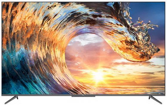 Фото - Телевизор LED TCL 75 75P717 стальной/Ultra HD/60Hz/DVB-T2/DVB-C/DVB-S2/USB/WiFi/Smart TV (RUS) телевизор tcl l43s6500 43 full hd