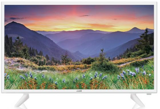 Фото - Телевизор LED 32 BBK 32LEM-1090/T2C белый 1366x768 50 Гц S/PDIF led телевизор bbk 32lem 1090 t2c