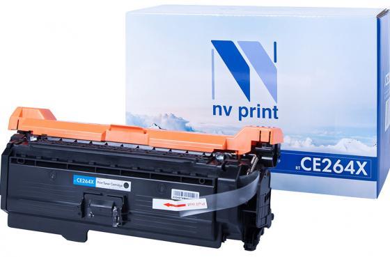 Фото - Картридж NVP совместимый NV-CE264X Black для HP Color LaserJet CM4540/ CM4540f/ CM4540fskm (17000k) картридж nv print nvp cf226x для hp m402 m426 9000стр