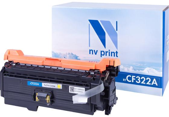 Картридж NVP совместимый NV-CF322A Yellow для HP Color LaserJet M680dn/ M680f/ M680z (16500k) картридж nvp совместимый nv cf231a для hp laserjet ultra m230sdn 5000k