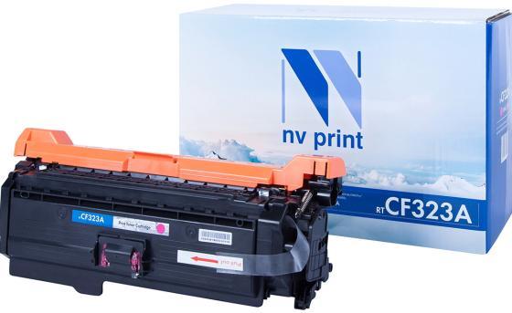 Фото - Картридж NVP совместимый NV-CF323A Magenta для HP Color LaserJet M680dn/ M680f/ M680z (16500k) картридж nvp совместимый nv cf530a black для hp color laserjet pro m180n m181fw 1100k
