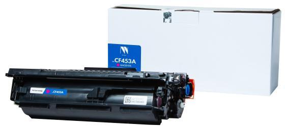 Фото - Картридж NV-Print NV-CF453A для HP LaserJet M652DN LaserJet M653DN LaserJet M681DH LaserJet M653X LaserJet M681F LaserJet M681Z LaserJet M682Z 10500стр Пурпурный картридж hp 657x cf472x для hp color laserjet enterprise flow m681z m682z m681dh m681f желтый 23000стр