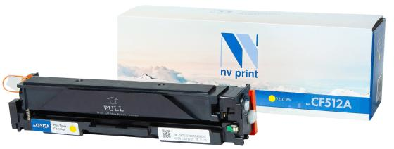 Фото - Картридж NVP совместимый NV-CF512A Yellow для HP LaserJet Pro M154a/M154nw/MFP M180n/MFP M181fw (900k) картридж nvp совместимый nv cf530a black для hp color laserjet pro m180n m181fw 1100k