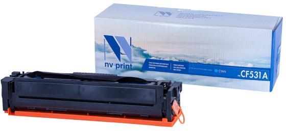 Фото - Картридж NVP совместимый NV-CF531A Cyan для HP Color LaserJet Pro M180n/ M181fw (900k) картридж nv print cc531a 718 cyan для hp и canon совместимый