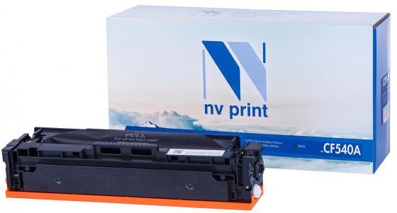 Картридж NVP совместимый NV-CF540A Black для HP Color LaserJet Pro M254dw/ M254nw/ M280nw/ M281fdn/ M281fdw (1400k) картридж nv print nv cf542a для hp color laserjet pro m254dw m254nw mfp m280nw m281fdn m281fdw yellow