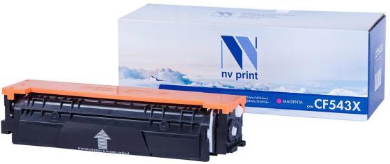 Фото - Картридж NVP совместимый NV-CF543X Magenta для HP Color LaserJet Pro M254dw/ M254nw/ M280nw/ M281fdn/ M281fdw (2500k) картридж nvp совместимый nv ce264x black для hp color laserjet cm4540 cm4540f cm4540fskm 17000k