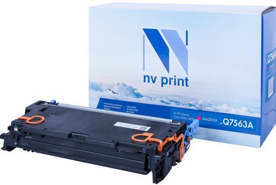 Фото - Картридж NVP совместимый NV-Q7563A для HP Color LaserJet 2700/ 2700N/ 3000/ 3000DN/ 3000DTN/ 3000N (3500k) картридж hp q7563a