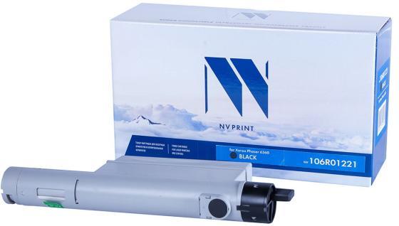 Фото - Картридж NVP совместимый NV-106R01221 Black для Xerox Phaser 6360 (18000k) картридж nvp совместимый nv 51b5h00 для lexmark ms417dn mx417dn ms517dn mx517de ms617dn mx617de 8500k