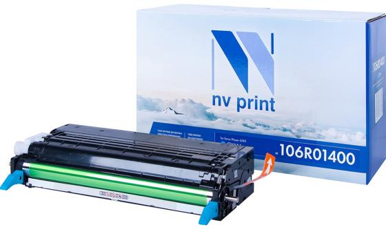 Фото - Картридж NVP совместимый NV-106R01400 Cyan для Xerox Phaser 6280 (5900k) картридж nvp совместимый nv 106r03534 cyan для xerox versalink c400 c405 8000k
