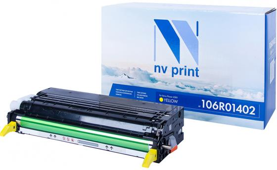 Картридж NVP совместимый NV-106R01402 Yellow для Xerox Phaser 6280 (5900k) картридж xerox 106r01075 yellow для phaser 6300 6350 4000стр