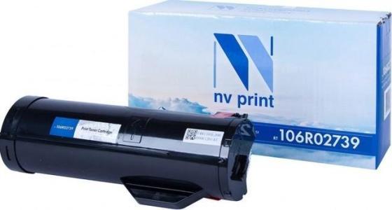 Фото - Картридж NVP совместимый NV-106R02739 для Xerox WorkCentre 3655/3655i/3655S/3655X (14400k) картридж nvp совместимый nv 106r03693 cyan для xerox phaser 6510 workcentre 6515 4300k