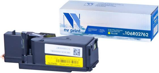 Фото - Картридж NVP совместимый NV-106R02762 Yellow для Xerox Phaser 6020/6022/ / WorkCentre 6025/6027 (1000k) картридж t2 tc x6020y желтый yellow 1000 стр для xerox phaser 6020 6022 workcentre 6025 6027