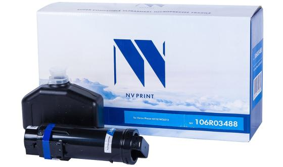 Фото - Картридж NVP совместимый NV-106R03488 Black для Xerox Phaser 6510/WorkCentre 6515 (5500k) картридж nvp совместимый nv 106r03693 cyan для xerox phaser 6510 workcentre 6515 4300k