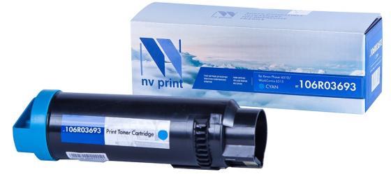 Фото - Картридж NVP совместимый NV-106R03693 Cyan для Xerox Phaser 6510/WorkCentre 6515 (4300k) картридж nvp совместимый nv 106r03534 cyan для xerox versalink c400 c405 8000k