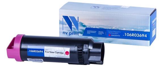 Фото - Картридж NVP совместимый NV-106R03694 Magenta для Xerox Phaser 6510/WorkCentre 6515 (4300k) картридж nv print 106r01444 magenta для xerox phaser 7500 17800k
