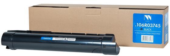 Фото - Картридж NV-Print NV-106R03745 для Xerox VersaLink C7020 VersaLink C7025 VersaLink C7030 23600стр Черный versalink c7025 c 3x лотковым модулем