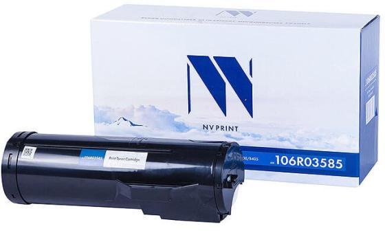 Фото - Тонер-картридж NV-Print NV-106R03585 для Xerox VersaLink B400 VersaLink B405 24600стр Черный пульт ду gwire 95001 eltex для iptv медиацентров eltex nv 100 nv 102 nv 300 nv 310 wac nv 501 wac черный