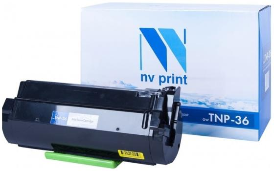 Фото - Тонер-картридж NV-Print TNP-36 для Konica Minolta Bizhub 3300P Bizhub 3301P 10000стр Черный тонер konica minolta bizhub c25 желтый tnp 27y